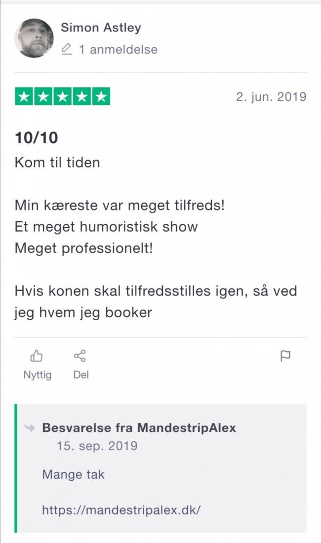 Mandestrip Billig pris København-Roskilde-Køge-Albertslund