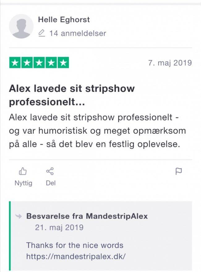 Mandestripper Roskilde, Køge, Albertslund, Brøndby, Vallensbæk med Alexthegreat